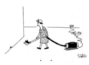 Cat-Vac cartoon