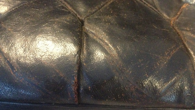 leather repair, antique and historic object conservation, leather upholstery, antique automotive leather