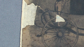 repair, preservation, conservation of antique paper damage, paper conservator Spicer Art Conservation, Albany NY