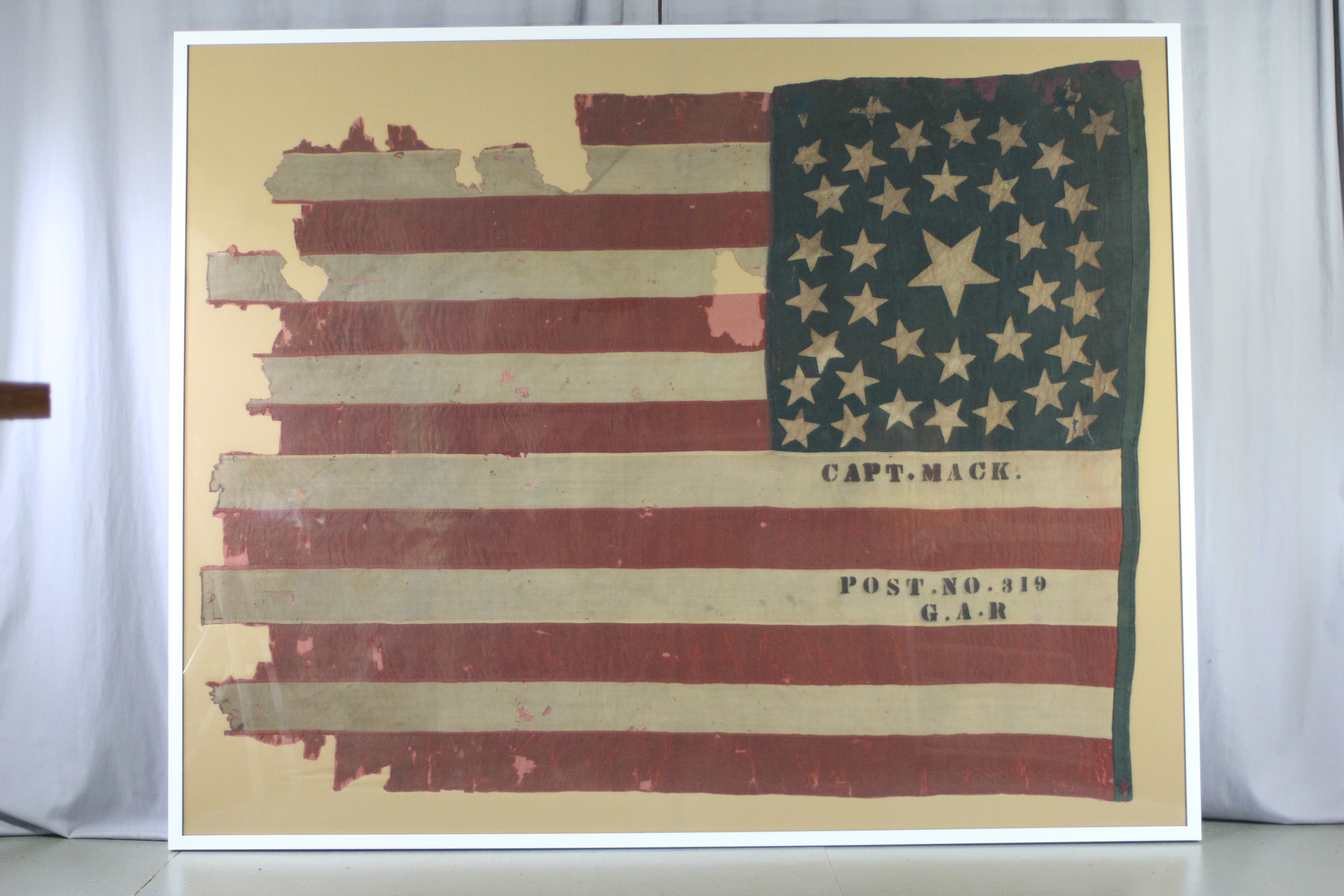 Historic Flags and Banners | Spicer Art Conservation