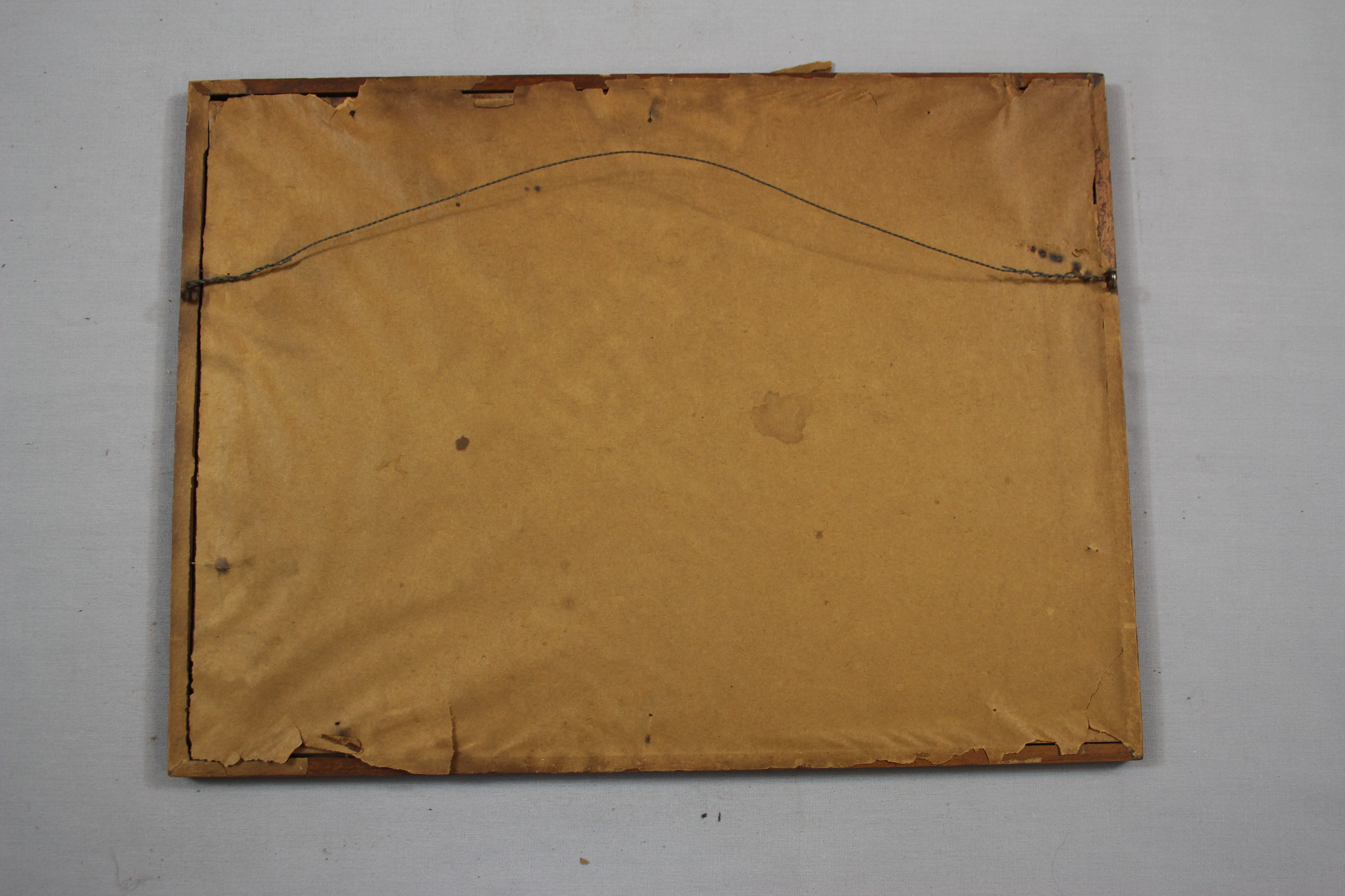 reframing using archival materials, sealed frame, conservation of framed art, dust cover, non-sealed frame